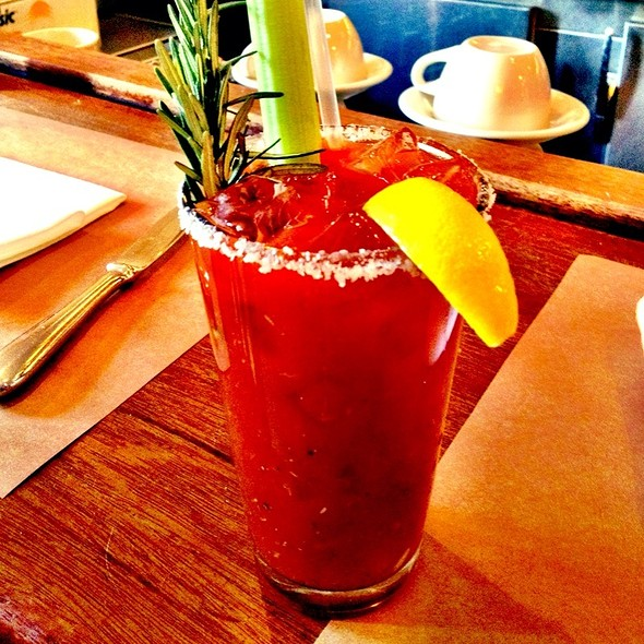Rosemary Bloody Mary @ Five Points