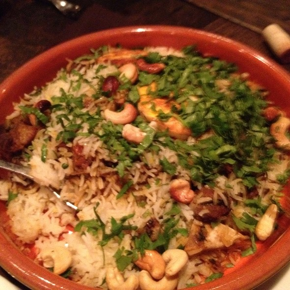 Goat Biryani For Two @ Cardamom Hill
