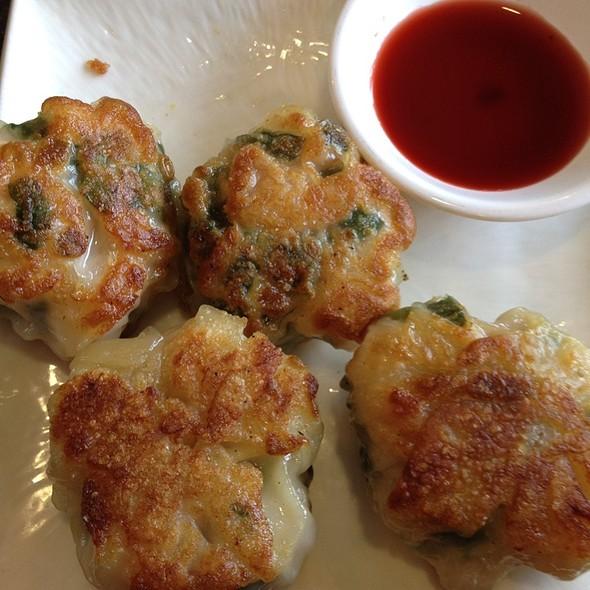 Shrimp and chive dumplings @ capital seafood restaurant