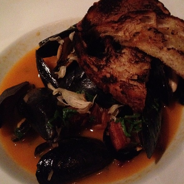 Steamed Mussels @ Branch Water Tavern
