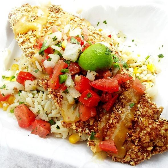 Tortilla-Crusted Fish @ St. John's Fire Food Truck