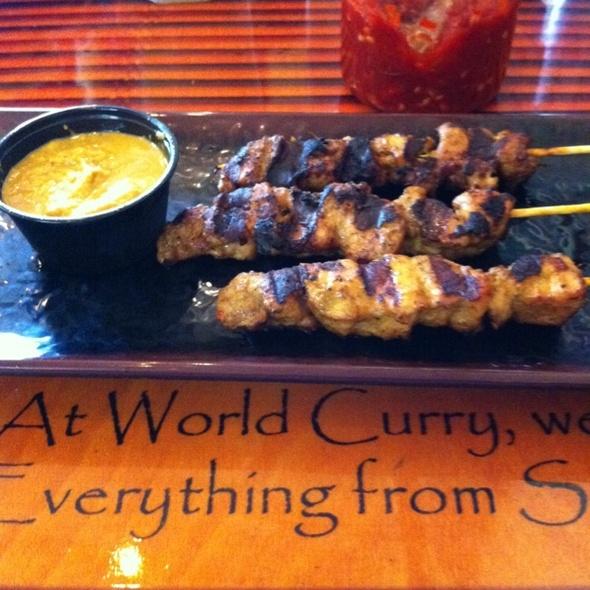 Singapore Satay @ World Curry