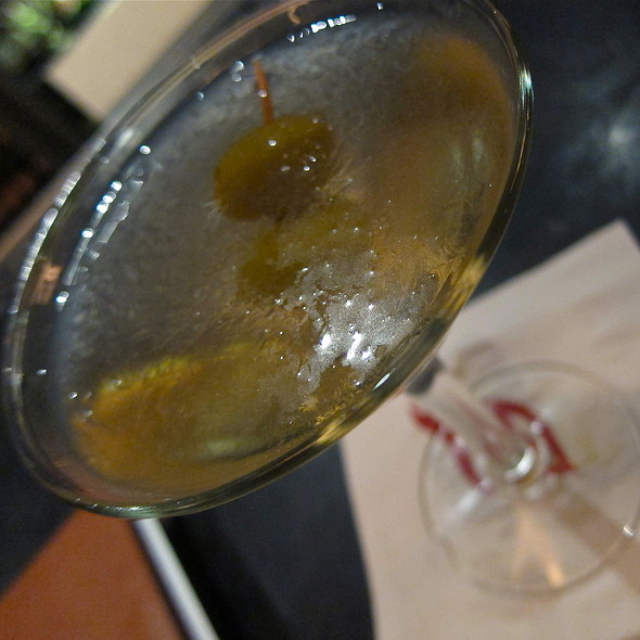 Uber Dirty Hanger One Martini @ Espetus Churrascaria Brazilian Steak House