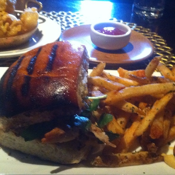 Softshell Crab Sandwich @ Boarding House