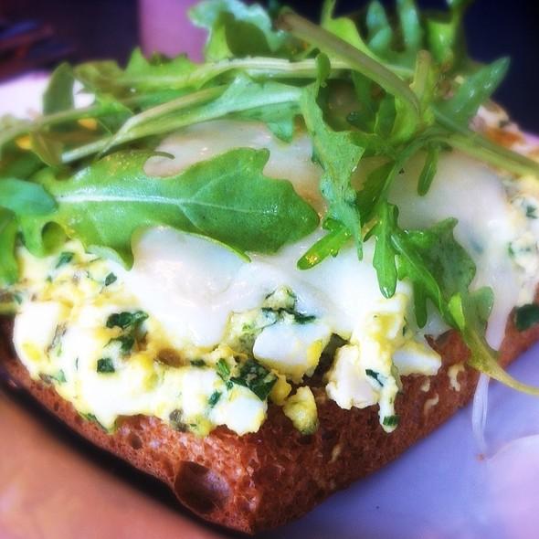 Warm Egg Salad Sandwich @ Il Cane Rosso
