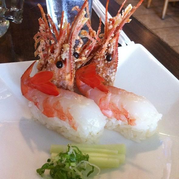 Sushi Sweet Shrimp @ PB Mika Sushi