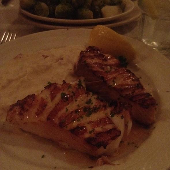 Chillian Sea Bass And Alaskan Ivory Salmon - Blue Point Grill, Princeton, NJ
