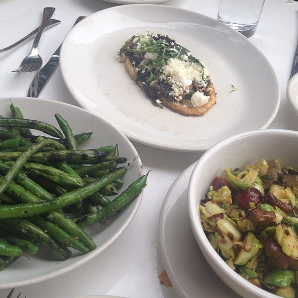 Grilled Green Beans And Brussel Sprouts @ La Condesa
