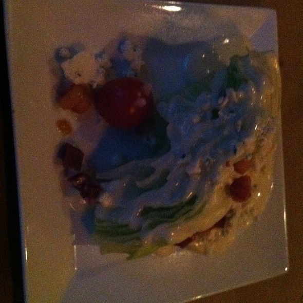 Wedge Salad @ Canyon Chop House