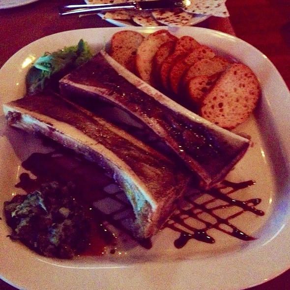 Roasted Bone Marrow - LaSalle Grill, South Bend, IN