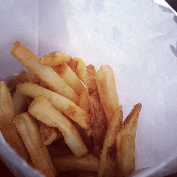 French Fries @ Trolley Dogs
