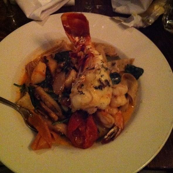 Lobster Pasta @ Fish Hopper Seafood & Steaks