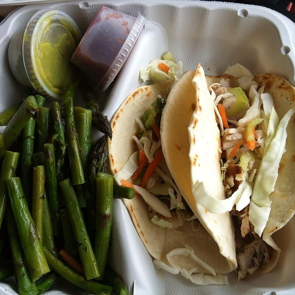 Swordfish Fish Tacos