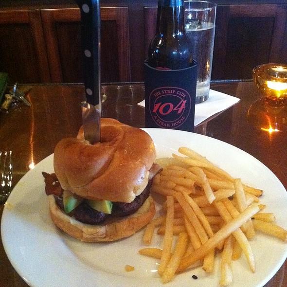 The California Burger - The Strip Club 104 a steak house, Greer, SC