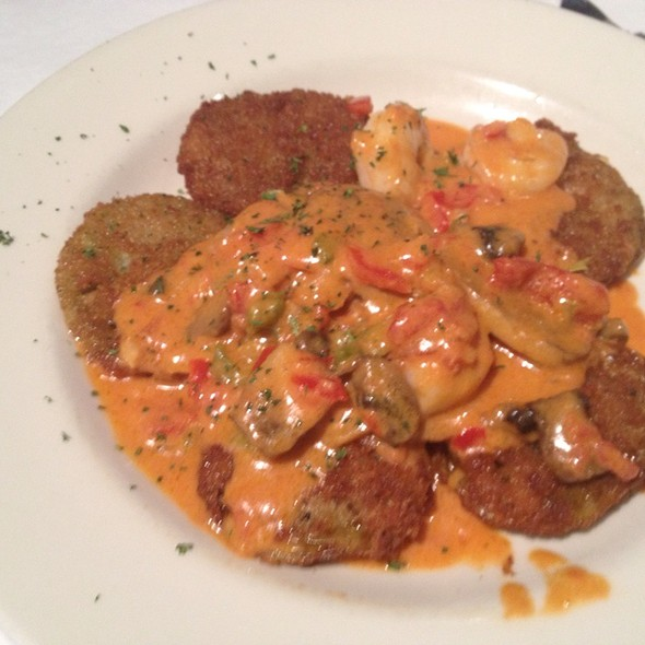 Fried Green Tomatoes With 1870 Sauce