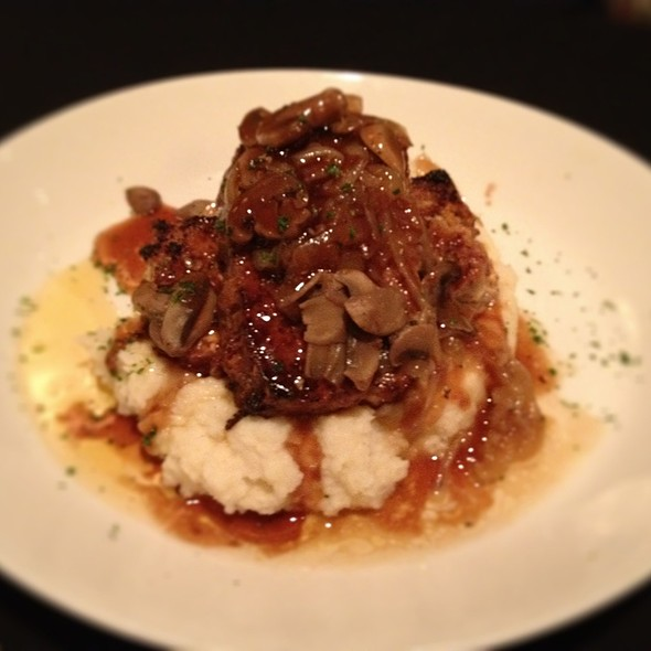 Meatloaf In Porcini Sauce W Horseradish Mashed Potatoes @ Sullivan's Steakhouse