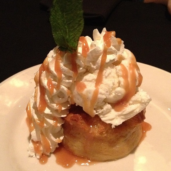 Bananas Foster Bread Pudding @ Sullivan's Steakhouse