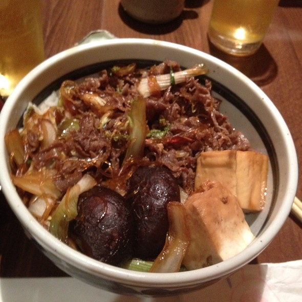 Beef Sukiyaki @ Sakura