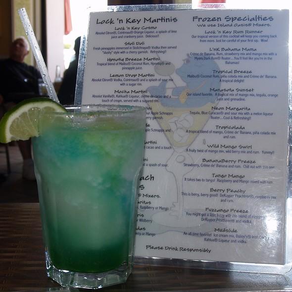 Neon Margarita @ Lock & Key Restaurant & Pub