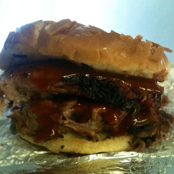 Brisket Sandwich @ Rudy's Country Store And BBQ