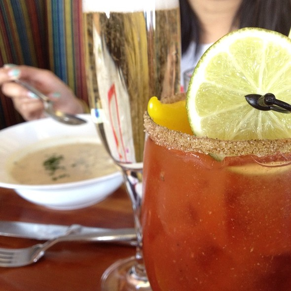 Bloody Mary @ Schooners Bistro On the Bay
