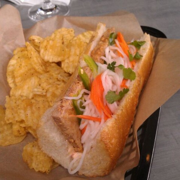 Tofu Bahn Mi @ Old Gold