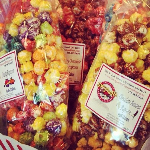 Popcorn @ Campbells Sweets Factory