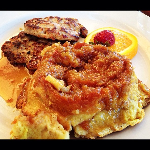 Creme Brulee French Toast @ Scott's Seafood Grill & Bar