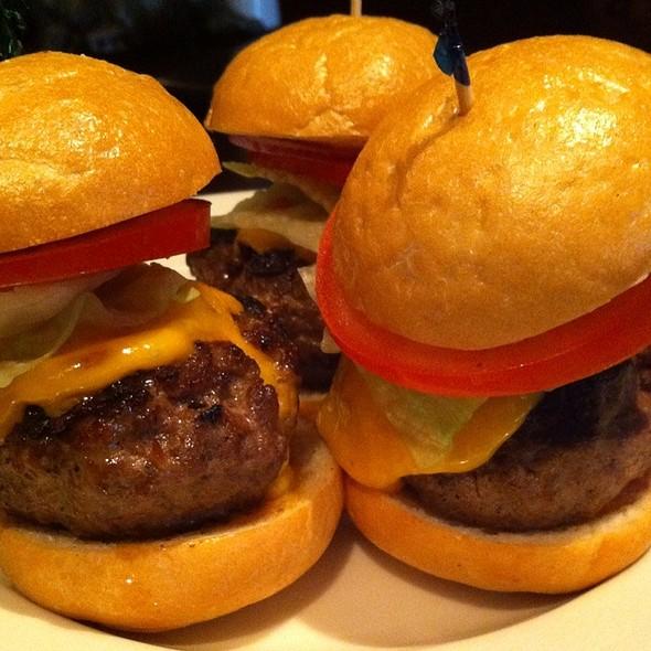 Prime Cheeseburger Sliders - Morton's The Steakhouse - San Diego, San Diego, CA