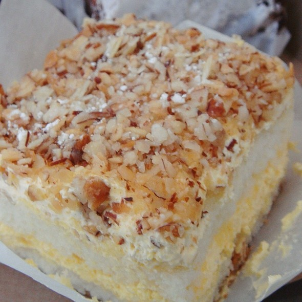 Burnt Almond Cake @ Peters' Bakery