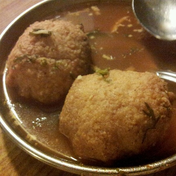 Rasam Wada  @ A. Rama Nayak's Udipi Restaurant