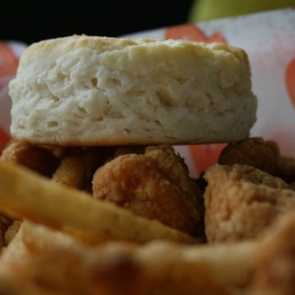 Chicken Strips Meal @ Popeyes