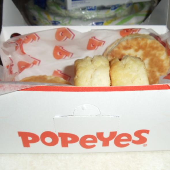 buttermilk biscuits @ Popeyes