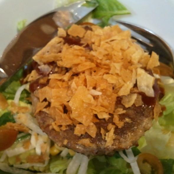 BARBEQUE BURGER SALAD @ Stackers Burger Cafe