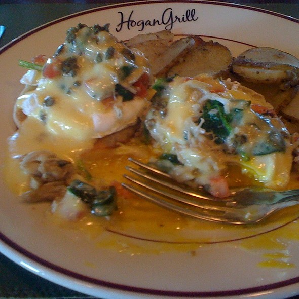 Lump Crab Meat Eggs Benedict @ Hershey Country Club