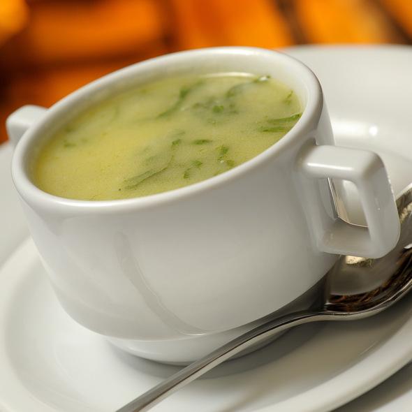 Caldo Verde Soup @ BACALHOEIRO RESTAURANTE