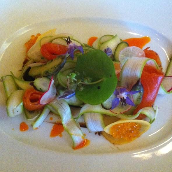 Citrus Cured Steelhead Trout @ viognier restaurant