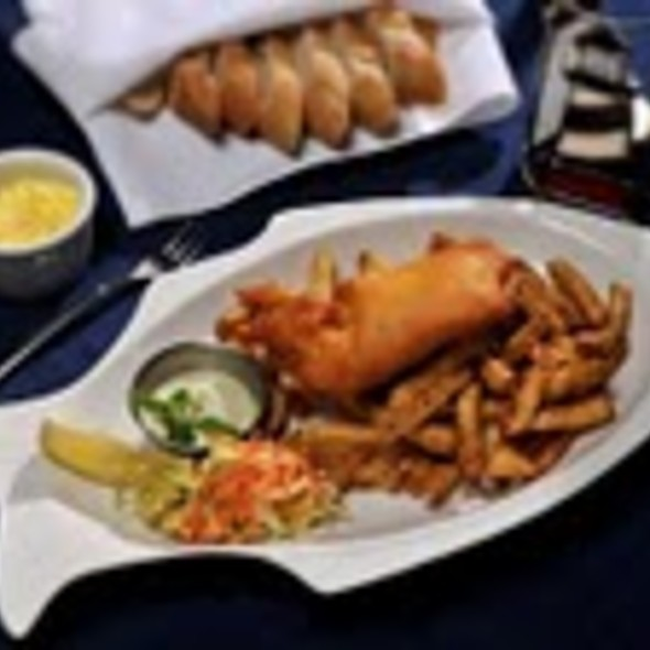 Fish & Chips @ Bras d'Or Lakes Inn