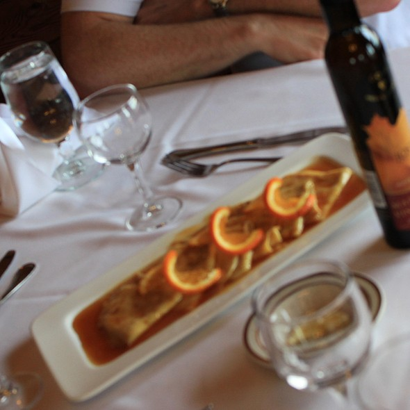 Crepes Suzette @ Bras d'Or Lakes Inn