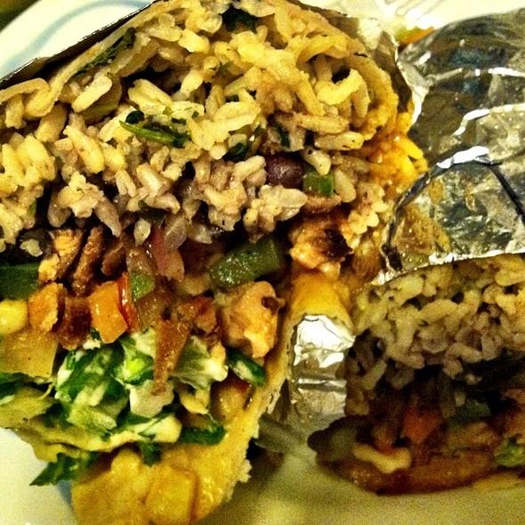 Chicken Fajita Burrito @ Chipotle Mexican Grill - Montague Street