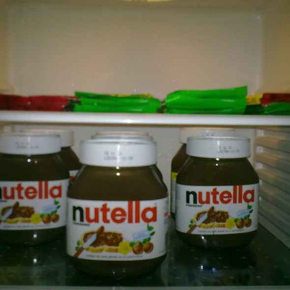 nutella and nestle chocolates @ Home