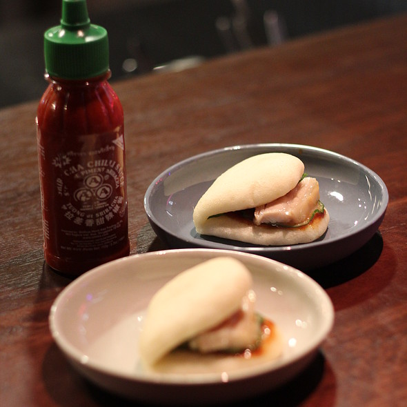 Steamed Pork Bun @ Momofuku Seiōbo