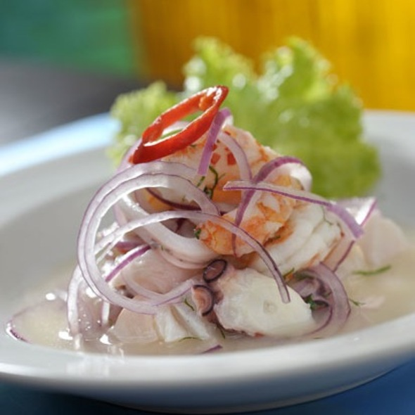 Cebiche Mixto @ La Mar Cebicheria