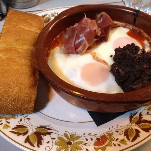 Baked Eggs With Jamon @ Reuben Hills