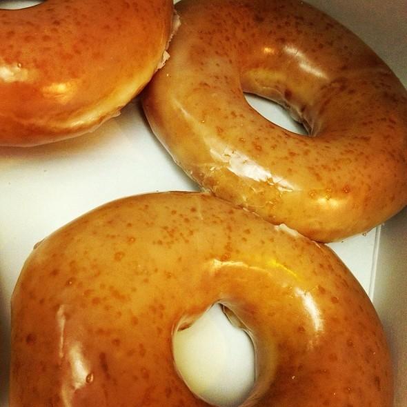 Glazed Doughnut @ Krispy Kreme Doughnuts
