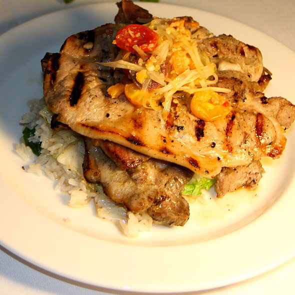 Vietnamese Inspired Grilled Pork Chops @ Cafe Julia @ YWCA