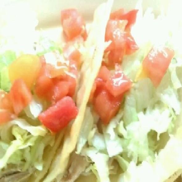 Chicken Taco @ Manuel's