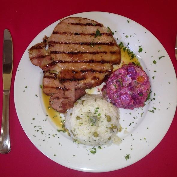 Chuleta Ahumada En Salsa De Naranja @ La Dulce Esquina Restaurant
