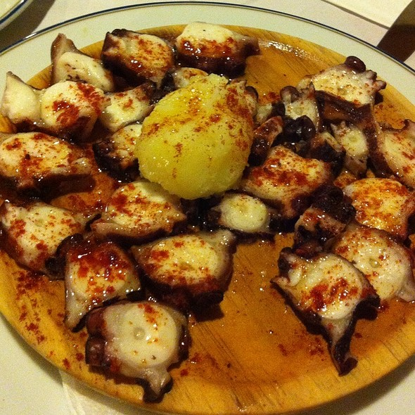 Pulpo a la Gallego (Galician Octopus)