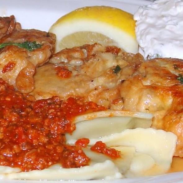Fried Oysters and Ravioli @ Marin Joe's